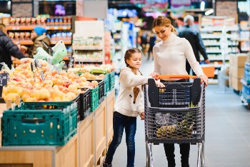 Grocery stores are a common spot for slip and fall accidents.