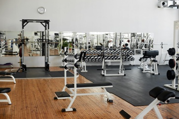 Small Gym With Various Machines