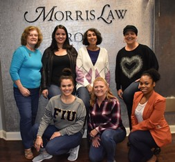 Jeans day at Morris Law Group