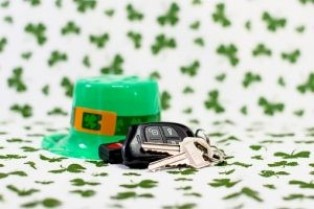 Don't drink and drive on St. Patrick's Day