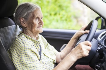Elderly drivers can cause severe accidents.
