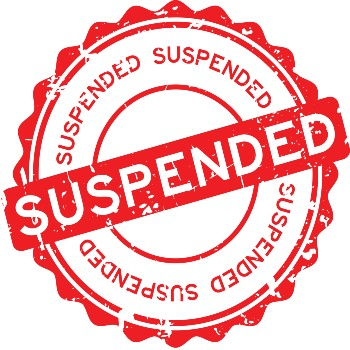 Challenging a suspension might not be a good idea.