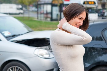 Rear-end collision in a Houston car accident