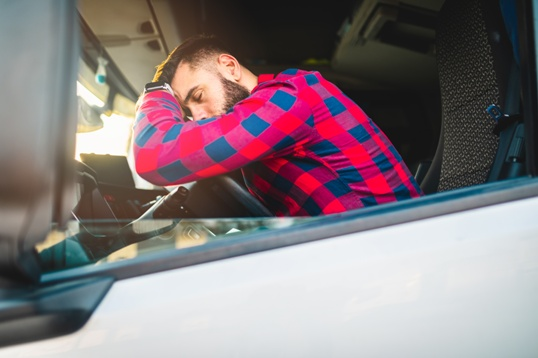 tired truck drivers pose serious threats