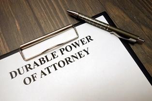 Granting durable power of attorney Kavesh Minor & Otis