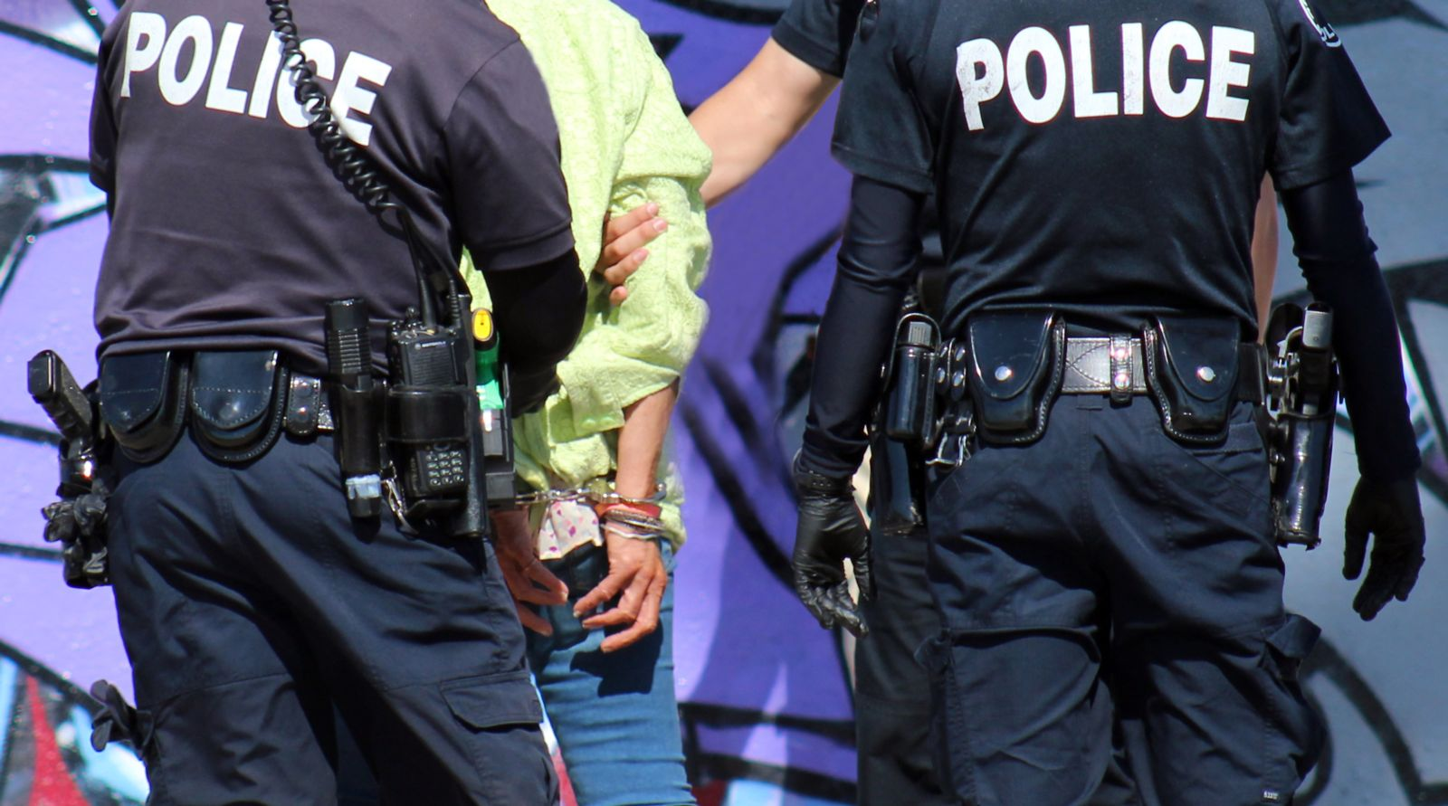 arrested on spring break