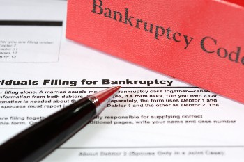 There is a means test for Chapter 7 bankruptcy.