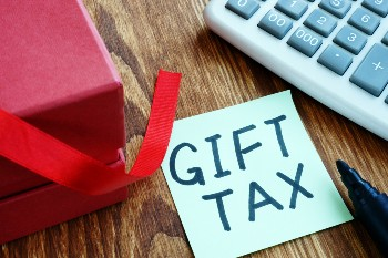 Most people don't pay gift taxes.