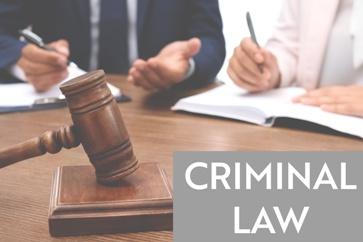 Criminal Defense Gavel