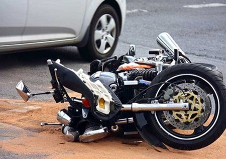 Get compensation for your motorcycle accident injuries.