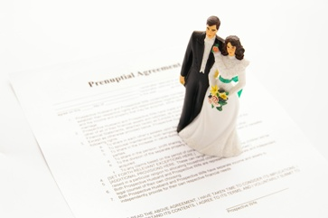 Prenuptial Agreement With a Wedding Cake Topper