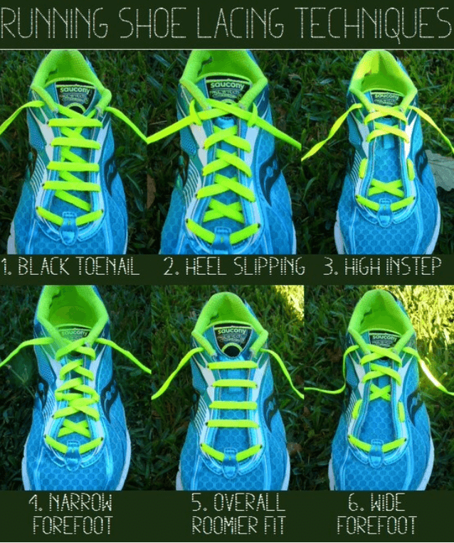how to lace shoes to improve running performance