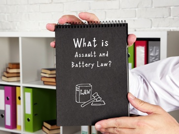 Assault and Battery Law Notebook
