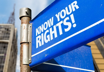 Know Your Rights! Sign