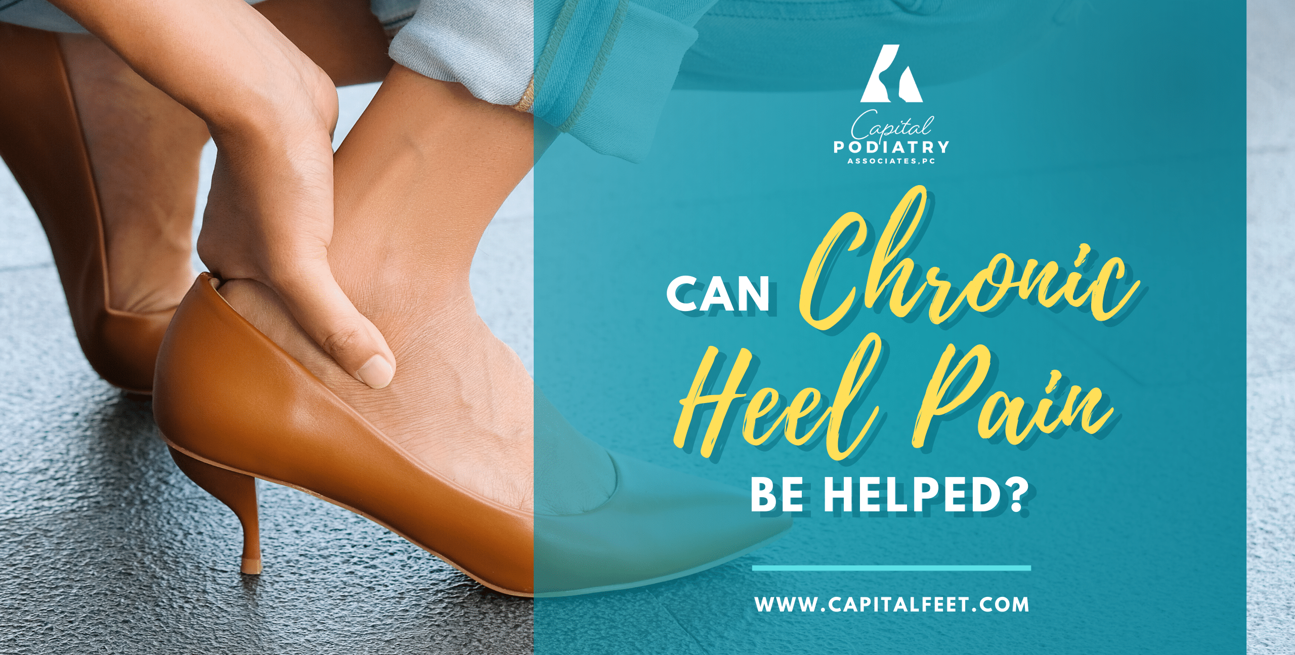 Can chronic heel pain be helped?