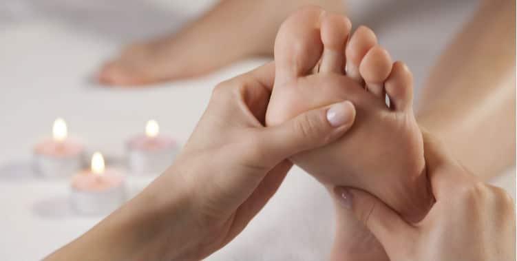 Checking Feet
