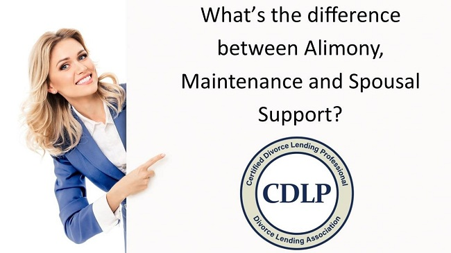 Difference between Alimony, Maintenance and Spousal Support