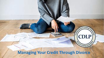 Managing credit card debt during divorce