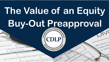 equity buy-out preapproval