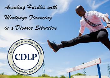 mortgage financing during divorce