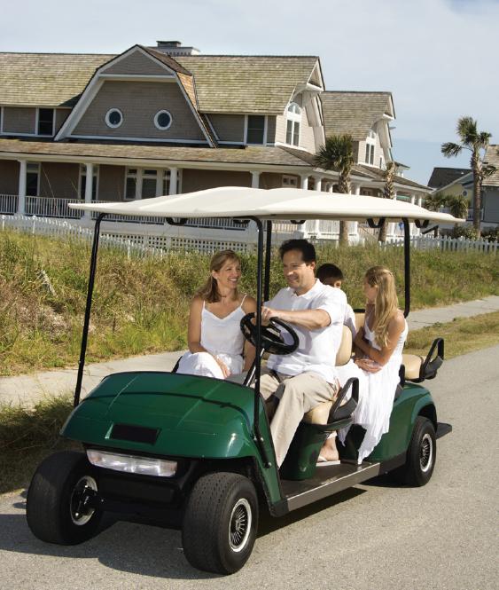 Golf Car Saftey