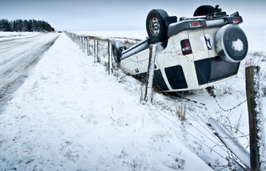 Car Accidents In The Snow in DC, Maryland and VA