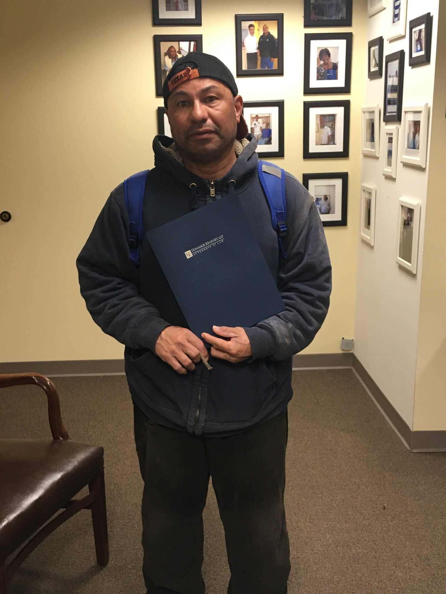 DC Construction Worker Settles Workers' Comp Case
