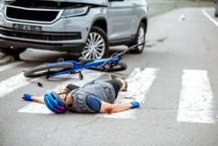 When You're On A Bike You May Get Hit By A Car in DC
