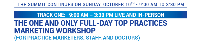 Sunday Choose the Workshop