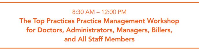 Practice Management Workshop