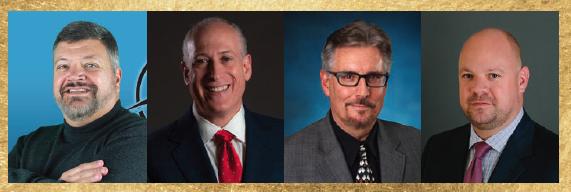Rem Jackson, Dr. Peter Wishnie, Dr. John Guiliana, and John Leardi Esq.