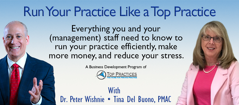 Run Your Practice Like a Top Practice