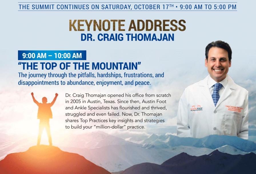 Summit Keynote Address