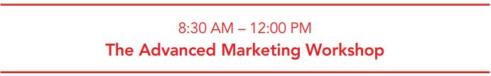 The Advanced Marketing Workshop