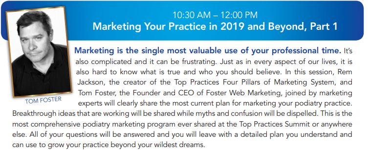 Marketing Your Practice in 2019 and Beyond, Part 1