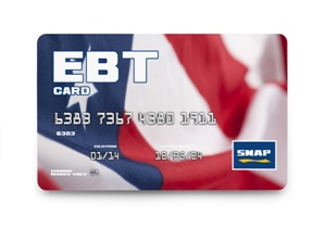 Electronic Benefits card for SNAP program