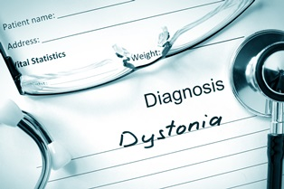 Dystonia disorder in infants