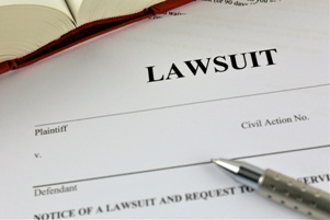 paperwork for filing a lawsuit