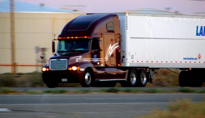 semi truck accident spokane county