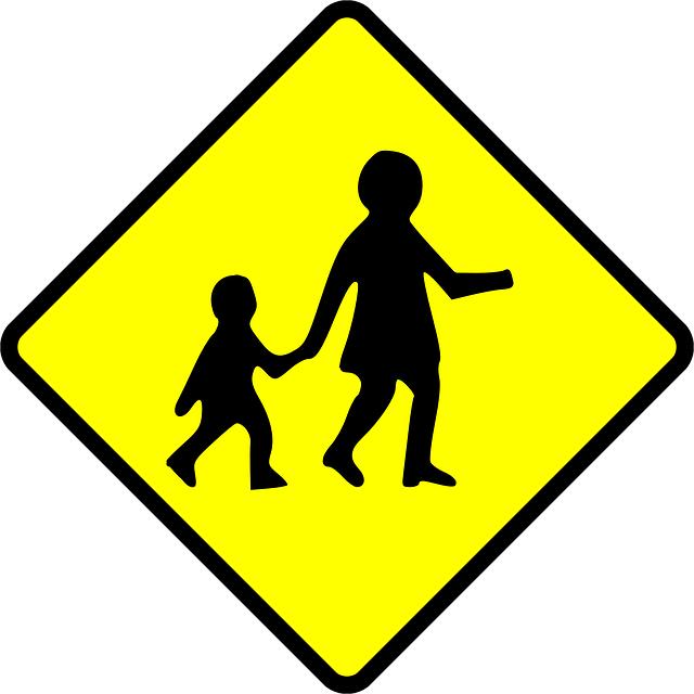 school zone pedestrian