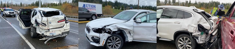 semi truck accident in Woodinville
