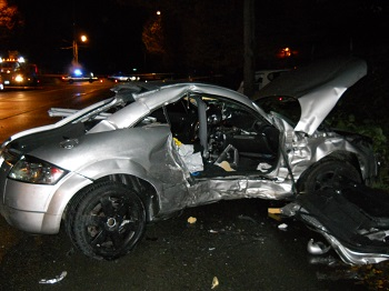 drunk driving crash in west seattle
