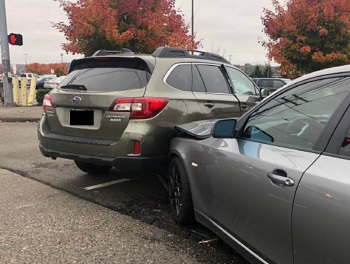 parking lot accident in seattle