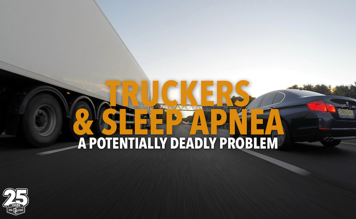 truckers with sleep apnea
