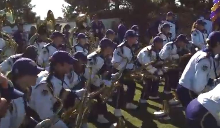 UW marching band accident