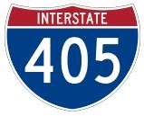 Interstate 405 accident
