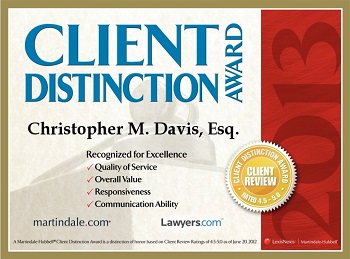 attorney client distinction award