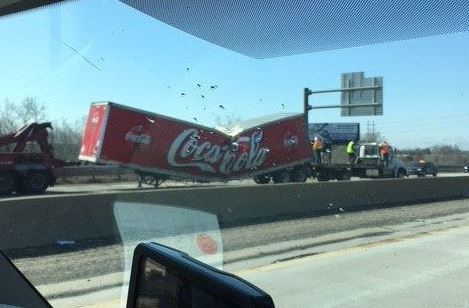 Coca Cola truck accident
