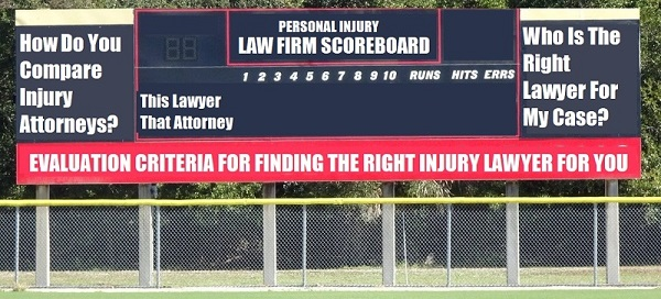 compare injury lawyers in seattle and washington state