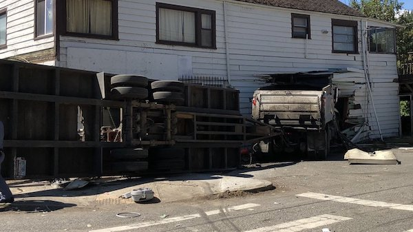 orting store crash
